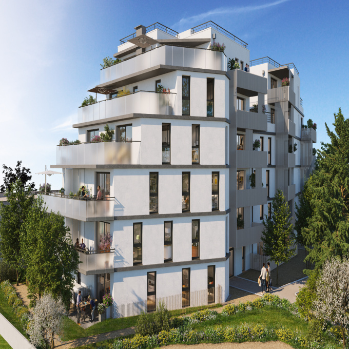 Programme neuf Appartement Grenoble (38100)