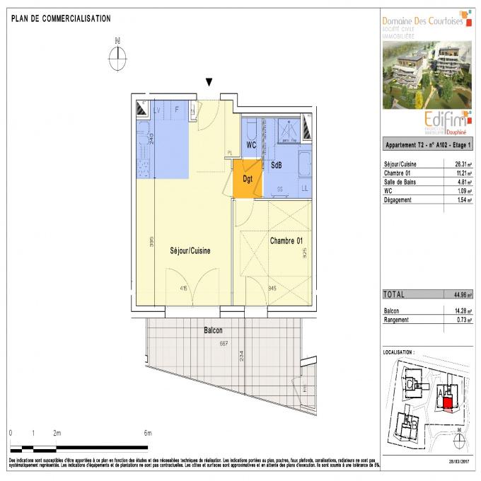 Programme neuf Appartement Le Pont-de-Claix (38800)