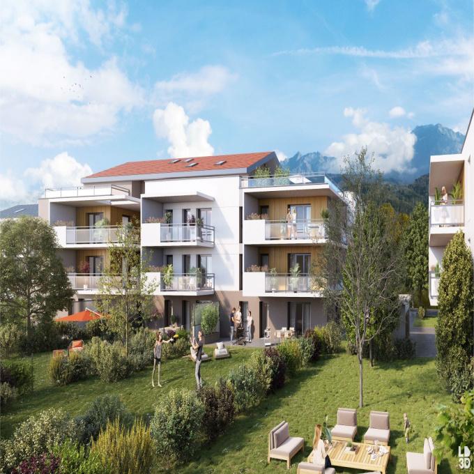 Programme neuf Rez de jardin Saint-Ismier (38330)