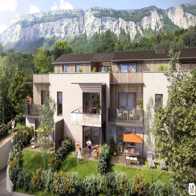 Programme neuf Rez de jardin Montbonnot-Saint-Martin (38330)