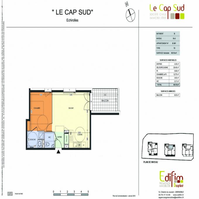 Offres de location Appartement Échirolles (38130)